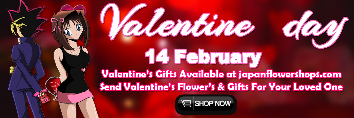 send valentines flowers and gifts to japanese