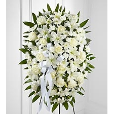 Sympathy Flowers Standing Spray